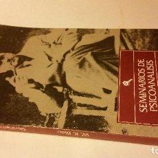Libros de segunda mano: 1991 - BION - SEMINARIOS DE PSICOANÁLISIS. Lote 222487115