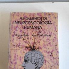 Libros de segunda mano: FUNDAMENTOS DE NEUROPSICOLOGÍA HUMANA BRYAN KOLB IAN Q WHISHAW 1986 LABOR. Lote 223219320