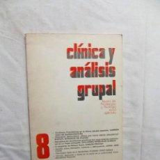 Libros de segunda mano: CLINICA Y ANALISIS GRUPAL. Lote 223268041