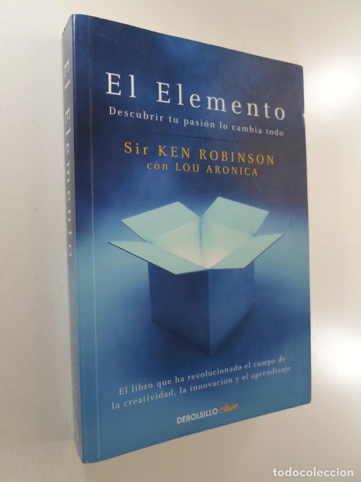 EL ELEMENTO ROBINSON, KEN (Libros de Segunda Mano - Pensamiento - Psicología)