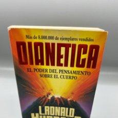 Libros de segunda mano: DIANETICA. EL PODER DEL PENSAMIENTO SOBRE EL CUERPO. L. RONALD. HURBRARD. NEW ERA. 1987. PAGS: 487. Lote 223936285