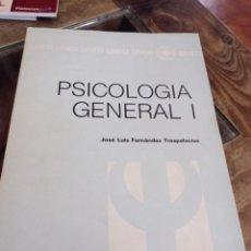 Libros de segunda mano: PSICOLOGIA GENERAL I ( EDICIÓN UNED) REF. GAR 300. Lote 227617845