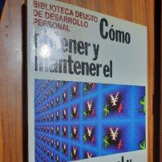 Livres d'occasion: COMO OBTENER Y MANTENER EL EXITO PERSONAL Y PROFESIONAL. DEUSTO. RÚSTICA. BUEN ESTADO. Lote 229083433