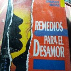 Libros de segunda mano: REMEDIOS PARA EL DESAMOR. ENRIQUE ROJAS.. Lote 231513280