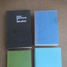 Libros de segunda mano: LOTE DE 4 LIBROS..TEMA SEXUALIDAD/PSICOLOGIA.....VER TITULOS.. Lote 232344150