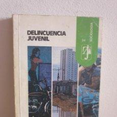 Libros de segunda mano: DELINCUENCIA JUVENIL_ VICENTE GARRIDO GENOVÉS. Lote 232746645