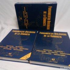 Libros de segunda mano: FUNDAMENTOS BIOLÓGICOS DE LA CONDUCTA. VOL I Y II. SANZ Y TORRES. Lote 233389755