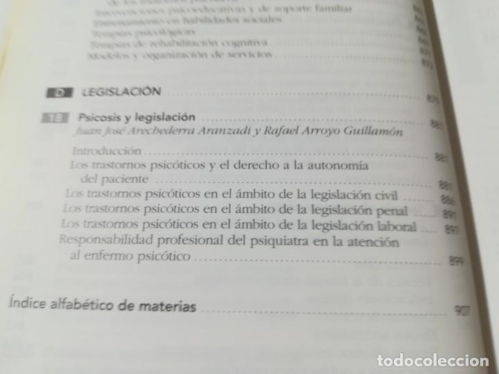 Libros de segunda mano: TRASTORNOS PSICOTICOS / ROCA BENNASAR Y OTROS / ARS / AE207 PSIQUIATRIA PSICOLOGIA - Foto 36 - 233572735