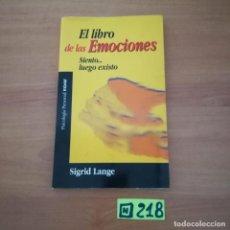 Libros de segunda mano: EL LIBRO DE LAS EMOCIONES. Lote 234376345