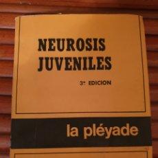 Libros de segunda mano: JORGE THENON. NEUROSIS JUVENILES. LA PLÈYADE. Lote 235674545