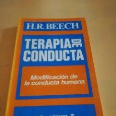 Libros de segunda mano: TERAPIA DE CONDUCTA. H. R. BEECH. TALLER EDICIONES JB. 1977.. Lote 236562690