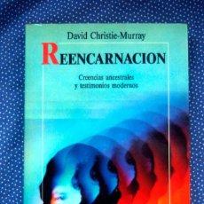 Libros de segunda mano: REENCARNACIÓN - DAVID CHRISTIE-MURRAY - EDITORIAL ROBINBOOK. Lote 236845065