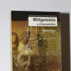 Libros de segunda mano: WITTGENSTEIN Y EL PSICOANÁLISIS - JOHN M. HEATON. Lote 238221510