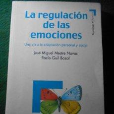 Libros de segunda mano: LA REGULACIÓN DE LAS EMOCIONES PIRAMIDE. Lote 239356560
