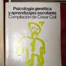 Libros de segunda mano: PSICOLOGÍA GENÉTICA Y APRENDIZAJES ESCOLARES COMPILACIÓN DE CÉSAR COLL SIGLO VEINTIUNO DE ESPAÑA ED. Lote 242157385