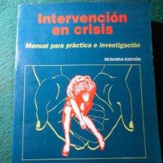 Libros de segunda mano: INTERVENCIÓN EN CRISIS KARL A. SLAIKEU. Lote 242486685