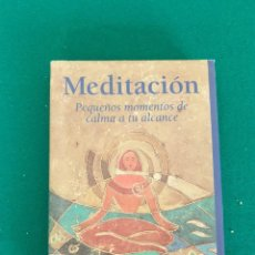 Libros de segunda mano: MEDITACION. Lote 243011700