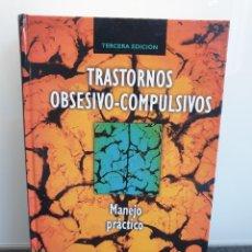 Libros de segunda mano: TRASTORNOS OBSESIVO-COMPULSIVOS. MANEJO PRÁCTICO. VARIOS AUTORES (ENVÍO 4,31€). Lote 243585525