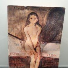 Libros de segunda mano: ESTRUCTURA BORDERLINE, PSICOSIS Y FEMINIDAD. ALBERTO ESPINA Y GEMA SÁNCHEZ.. Lote 243691600