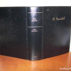 Libros de segunda mano: OBRAS ESCOGIDAS / OTTO FENICHEL. Lote 244718750