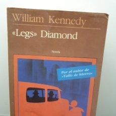 Libros de segunda mano: LEGS DIAMOND. WILLIAM KENNEDY. SEIX BARRAL 1985. Lote 244690880