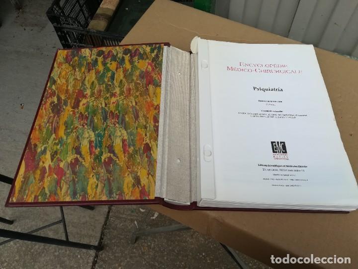 Libros de segunda mano: EMC PSIQUIATRIA -IDIOMA FRANCES - 6 TOMOS - ENCYCLOPEDIE MEDICO CHIRURGICALE - CJA 21-22 - Foto 3 - 245287590
