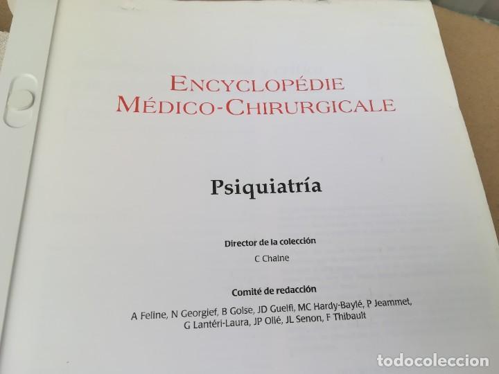 Libros de segunda mano: EMC PSIQUIATRIA -IDIOMA FRANCES - 6 TOMOS - ENCYCLOPEDIE MEDICO CHIRURGICALE - CJA 21-22 - Foto 4 - 245287590