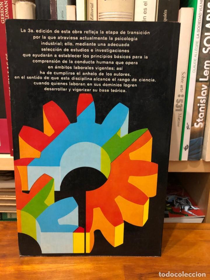 Libros de segunda mano: Psicología industrial. Sus fundamentos teóricos y sociales. M.L. Blum y J. C. Naylor. Edit. Trilla - Foto 2 - 245412135