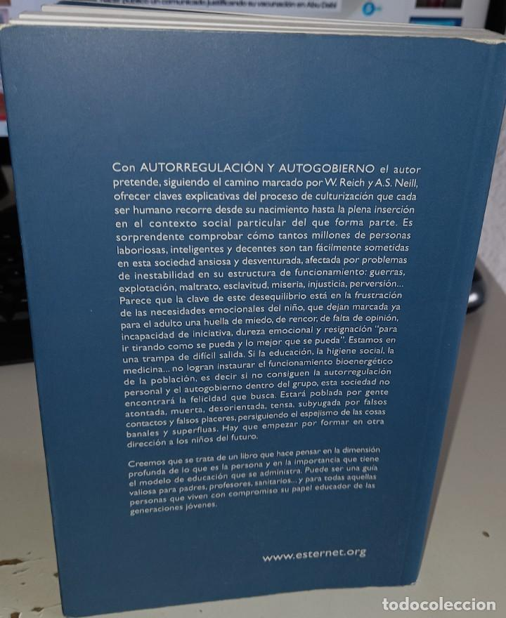 Libros de segunda mano: AUTORREGULACIÓN Y AUTOGOBIERNO ABRAZO ENTRE PSICOLOGÍA Y EDUCACIÓN - MAÑAS MONTERO, J. - Foto 2 - 245415950