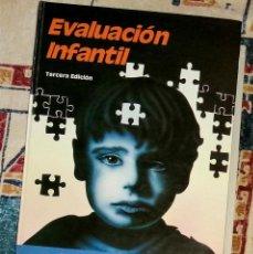 Libros de segunda mano: EVALUACIÓN INFANTIL JEROME M. SATTLER. Lote 246819560
