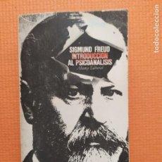 Libri di seconda mano: INTRODUCCION AL PSICOANALISIS SIGMUND FREUD. Lote 247082860