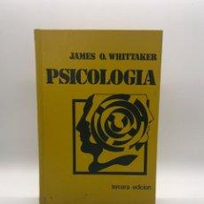 Libros de segunda mano: LIBRO DE PSICOLOGIA - JAMES O. WHITTAKER - AÑO 1977. Lote 247806565
