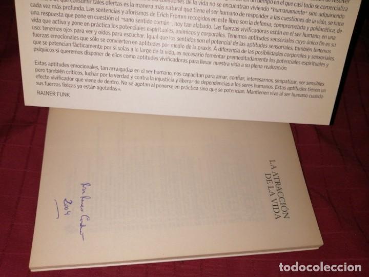 Libros de segunda mano: erich fromm - la atracción de la vida , aforismos y opiniones - Foto 2 - 254277755