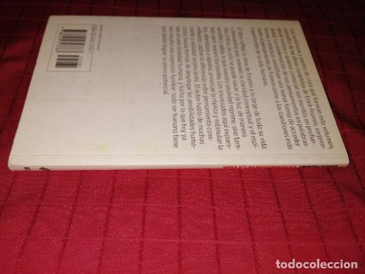 Libros de segunda mano: erich fromm - la atracción de la vida , aforismos y opiniones - Foto 4 - 254277755