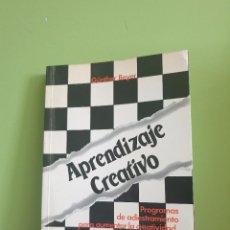 Libros de segunda mano: APRENDIZAJE CREATIVO. GÜNTHER BELLER. Lote 255511220