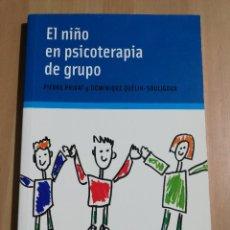 Libros de segunda mano: EL NIÑO EN PSICOTERAPIA DE GRUPO (PIERRE PRIVAT / DOMINIQUE QUÉLIN - SOULIGOUX). Lote 255657335