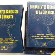 Libros de segunda mano: FUNDAMENTOS BIOLÓGICOS DE LA CONDUCTA. 2 TOMO. AGUEDA ABRIL ALONSO. SANZ Y TORRES. 2005. PSICOLOGIA. Lote 256119295