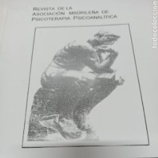 Libros de segunda mano: REVISTA DE LA ASOCIACION MADRILEÑA DE PSICOTERAPIA PSICOANALITICA. VOL. 1 Nº 1, SEPTIEMBRE 2006.. Lote 259255525