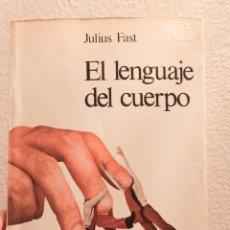 Libros de segunda mano: EL LENGUAJE DEL CUERPO. Lote 262310360