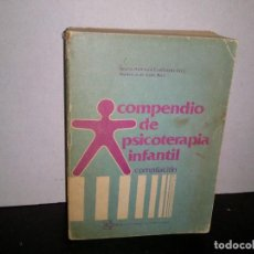 Libros de segunda mano: 6- COMPENDIO DE PSICOTERAPIA INFANTIL - ALICIA ADRIANA CASTILLO. Lote 262318715