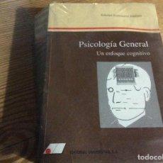 Libros de segunda mano: PSICOLOGÍA GENERAL. UN ENFOQUE COGNITIVO - BALLESTEROS JIMÉNEZ, SOLEDAD. Lote 262323255