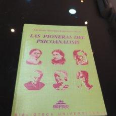 Libros de segunda mano: LAS PIONERAS DEL PSICOANÁLISIS. ANTONIO SÁNCHEZ-BARRANCO RUIZ. Lote 262357530