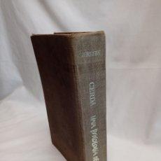 Libros de segunda mano: UNA PSICOLOGÍA DE HOY. CERDÁ 1973. Lote 262408990