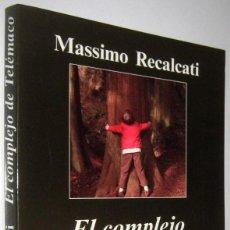 Libros de segunda mano: EL COMPLEJO DE TELEMACO - MASSIMO RECALCATI. Lote 262937530