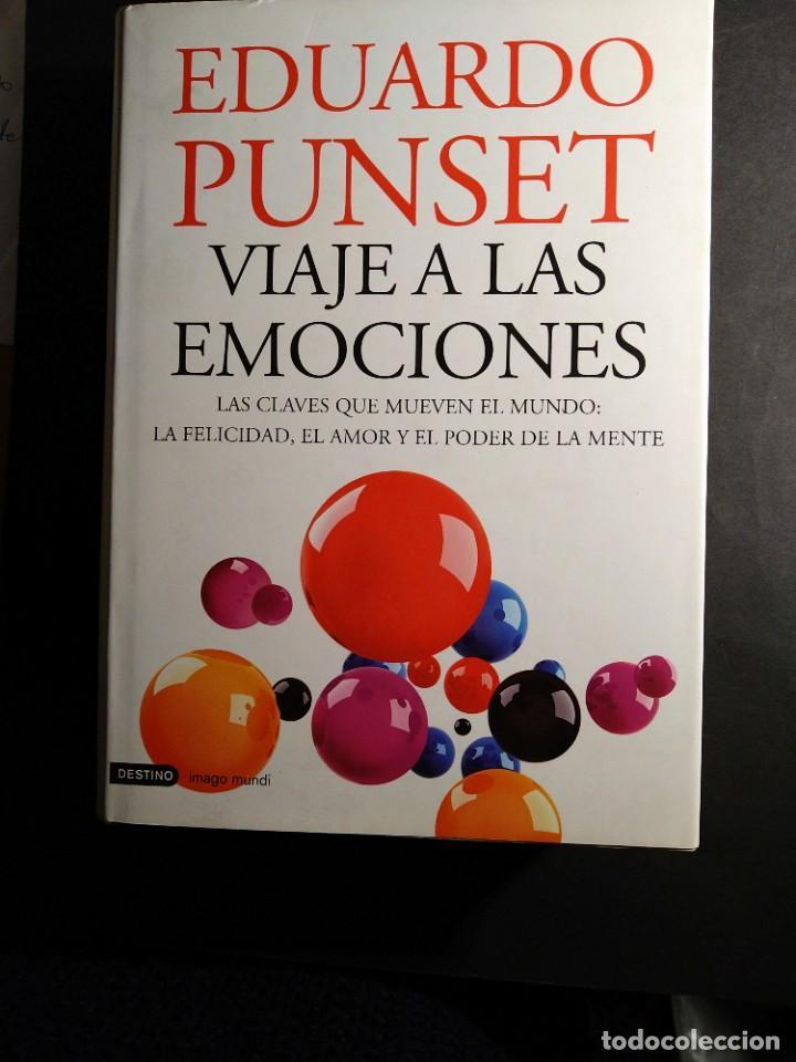 VIAJE A LAS EMOCIONES- EDUARDO PUNSET (Libros de Segunda Mano - Pensamiento - Psicología)