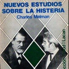 Libros de segunda mano: MELMAN : NUEVOS ESTUDIOS SOBRE LA HISTERIA (NUEVA VISIÓN, 1994). Lote 264500579