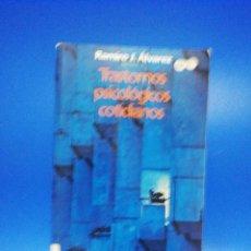 Libros de segunda mano: TRASTORNOS PSICOLOGICOS COTIDIANOS. RAMIRO J. ALVAREZ. SAL TERRAE. 1993. PAGS. 183.. Lote 266519528