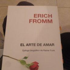 Libros de segunda mano: ERICH FROMM EL ARTE DE AMAR. PISOS 2011. Lote 269149433