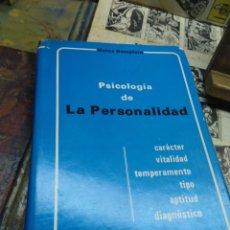 Libros de segunda mano: PSICOLOGÍA DE LA PERSONALIDAD. HEINZ REMPLEIN.. Lote 269293743