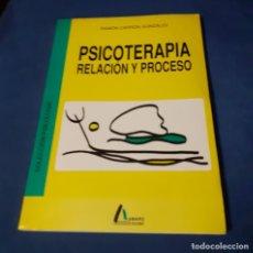 Libros de segunda mano: LIBRO PSICOTERAPIA, RELACION Y PROCESO. Lote 269394188